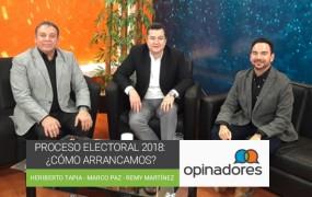 Proceso electoral 2018: ¿Cómo arrancamos?