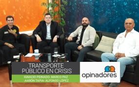 Transporte público en crisis