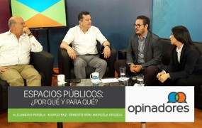 Opinadores – Espacios Público: ¿Por qué y para qué?