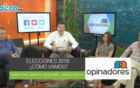 Opinadores -Elecciones 2018: ¿Cómo vamos?