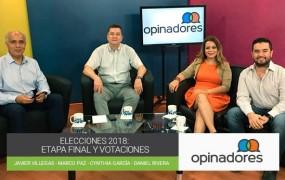 Opinadores – Elecciones 2018: Etapa final y votaciones