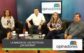 #Opinadores – La imagen de los políticos: ¿En quiebra?