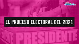 El proceso electoral del 2021